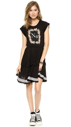 Wildfox Couture Highland Fling Dress Clean Black