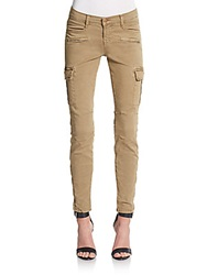 J Brand Grayson Skinny Cargo Pants Willow Tan