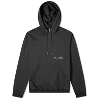 Oamc Let The Sunshine In Hoody Black