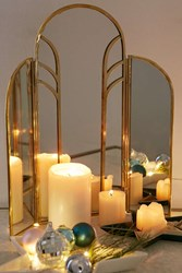 Plum And Bow Loire Mirror Gold
