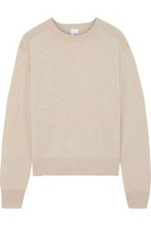 Iris And Ink Woman Encelia Cashmere Sweater Beige