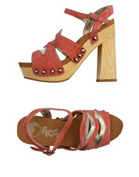 Flogg Sandals Salmon Pink