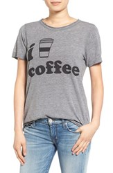 Women's Chaser Coffee Graphic Tee