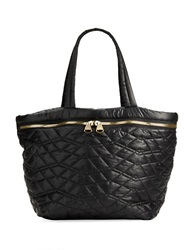 Dolce Vita Quilted Tote Bag Black