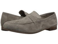 Massimo Matteo Suede Penny Loafer Smoke Suede Slip On Shoes Beige