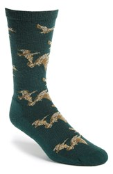 Men's Woolrich 'Heritage Duck' Merino Wool Blend Socks