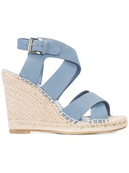 Joie Wedged Sandals Blue