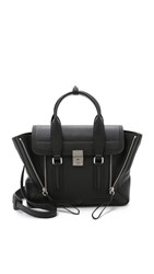 3.1 Phillip Lim Pashli Medium Satchel Black