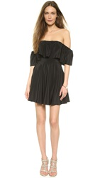 Amanda Uprichard Delilah Dress Black