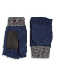 Ugg Wool Blend Gloves Navy Black