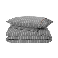 Tommy Hilfiger Grey Stripe Duvet Cover Super King