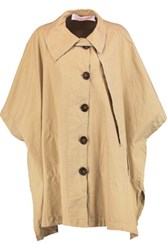 See By Chloe Cotton Canvas Cape Sand