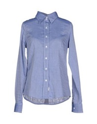 Blauer Shirts Blue