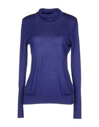 Caractere Turtlenecks Bright Blue