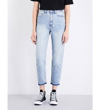 Ksubi Boyfriend Fit High Rise Jeans Hot Coffee