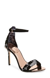 Ted Baker London Nikoal Sandal Black Suede