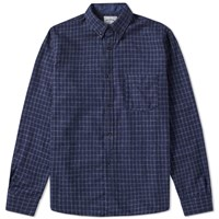 Spellbound Button Down Work Shirt Grey
