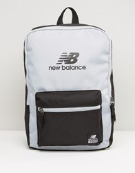 New Balance Booker Backpack In Grey Grey
