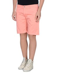 Michael Coal Trousers Bermuda Shorts Men Salmon Pink