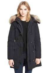 Women's Moncler 'Arriette' Down Insulated Parka With Genuine Fox Fur Ruff