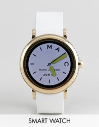 Marc Jacobs Mjt2000 Riley Smart Watch With Touchscreen White