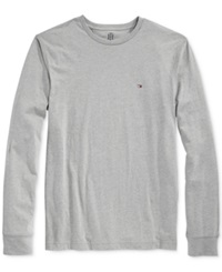 Tommy Hilfiger Eric Long Sleeve T Shirt Sport Grey Heather