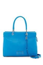 Marc By Marc Jacobs Leather Tote Blue