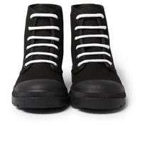 Givenchy Olympus Canvas Boots Black