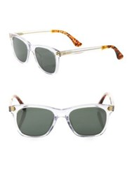 Toms Fitzpatrick 52Mm Wayfarer Sunglasses Clear