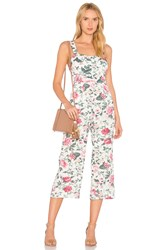 Majorelle Haven Jumpsuit White
