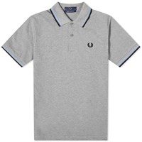 Fred Perry Reissues Original Twin Tipped Polo Grey