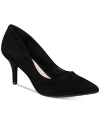 Alfani Women's Step 'N Flex Jeules Pumps Only At Macy's Women's Shoes Black Suede