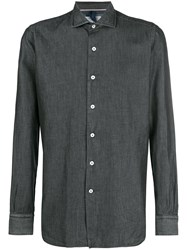 Orian Plain Button Down Shirt Grey