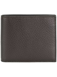 Canali Billfold Wallet Brown