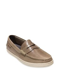 Cole Haan Pinch Weekender Leather Penny Loafers Simply Taupe
