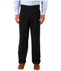 Comfort Khaki Upgrade Relaxed Pleated Dockers Navy Men's Casual Pants