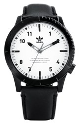 Adidas Cypher Leather Strap Watch 42Mm