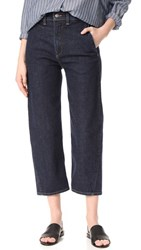 Vince High Rise Utility Jeans Resin Rinse Wash