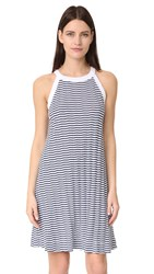 Three Dots Swing Tank Dress White