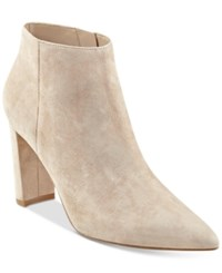 Ivanka Trump Kalyn Pointed Toe Booties Women's Shoes Taupe