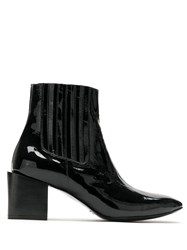 Uma Raquel Davidowicz Paris Leather Boots Black