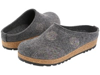 Haflinger Spirit Grey Women's Clog Shoes Gray