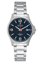 Swiss Military Hanowa Observer Watch Silvercoloured