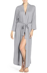 Natori Women's 'Shangri La' Robe Heather Grey
