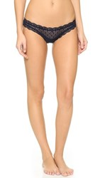 Eberjey Delirious Low Rise Thong Midnight