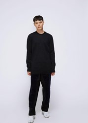 Comme Des Garcons Shirt 'S Corduroy Workstitch Pant In Black Navy Size Small Wool Cotton Panels Black Navy