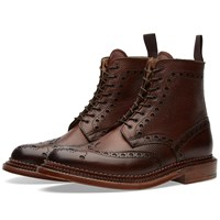 Grenson Fred Triple Welt Brown