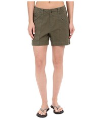 Royal Robbins Backcountry Billy Goat Canvas Shorts Light Olive Women's Shorts