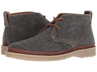 Born Elk Dark Grey Fabric Lace Up Boots Gray