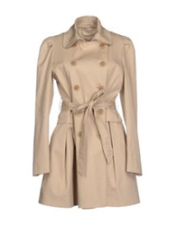 Giorgia And Johns Full Length Jackets Beige